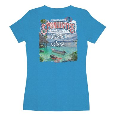 Spondivits Women's 40th Birthday T-Shirt in Turquoise