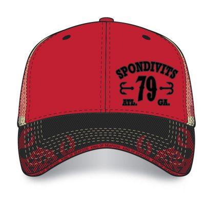 Spondivits 40th Anniversary - Red 40 Years Hat